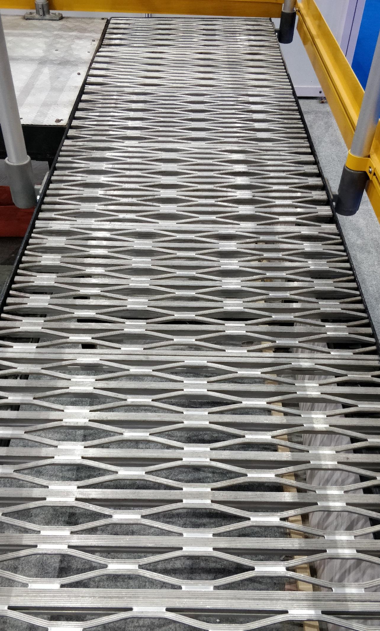 Aluminum Industrial Floor Grating