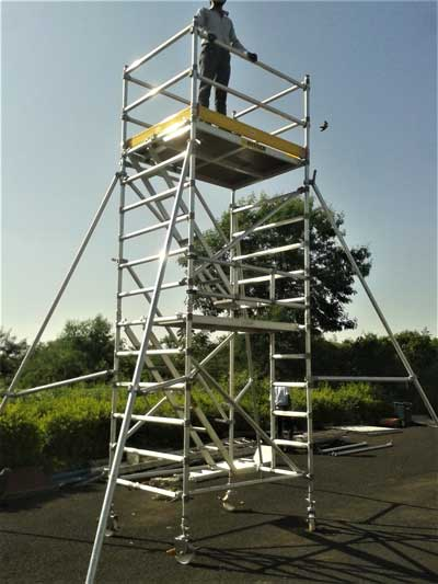 Aluminum Scaffold Tower