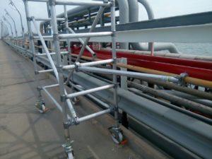 Aluminum Scaffolding Lasts Longer