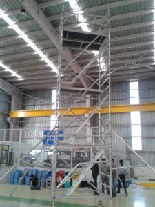Aluminum Scaffolding is Lightweight