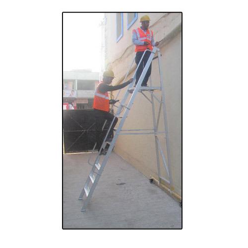 Folding Mobile Platform Ladders