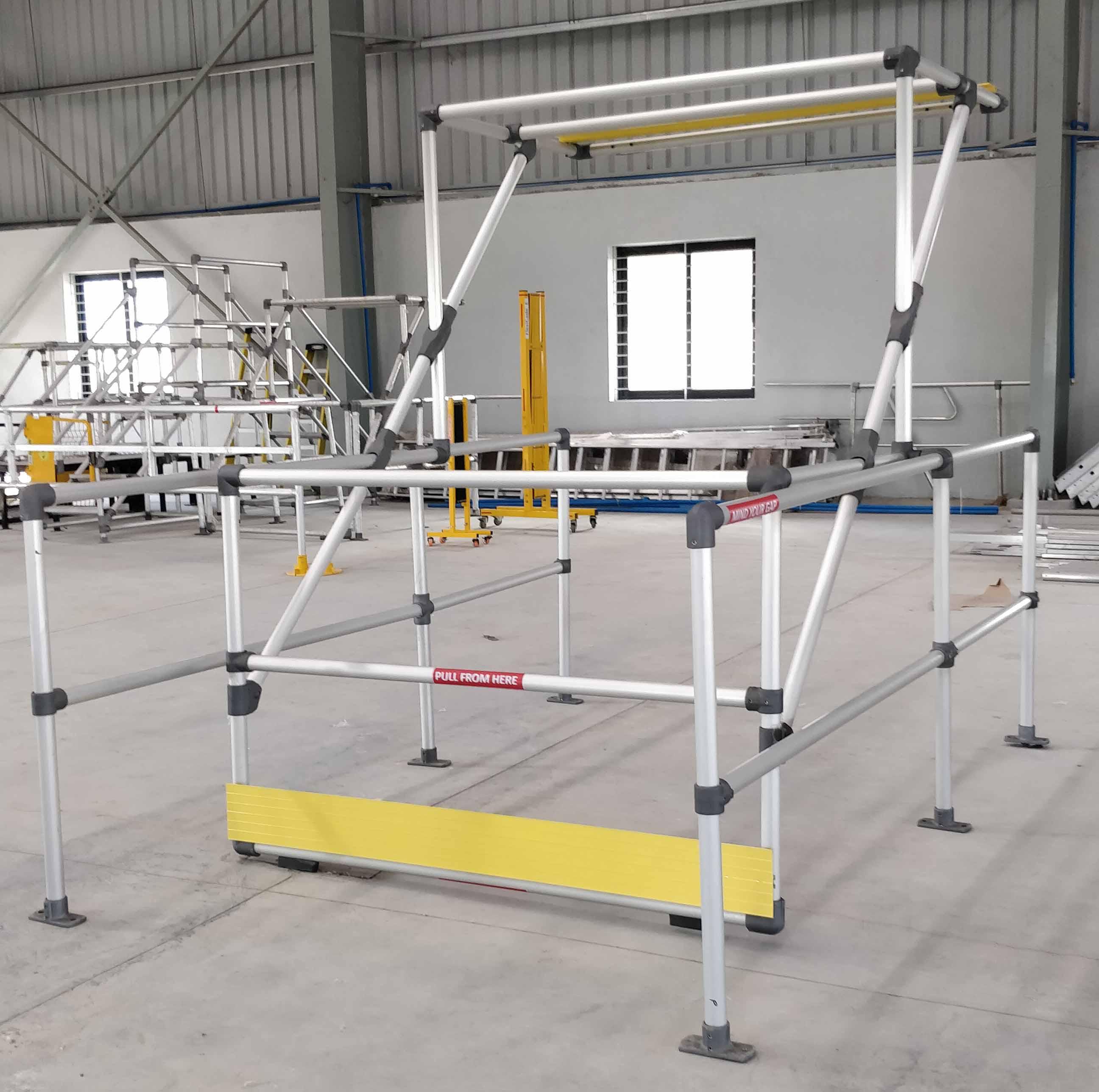 Endurail structural aluminum