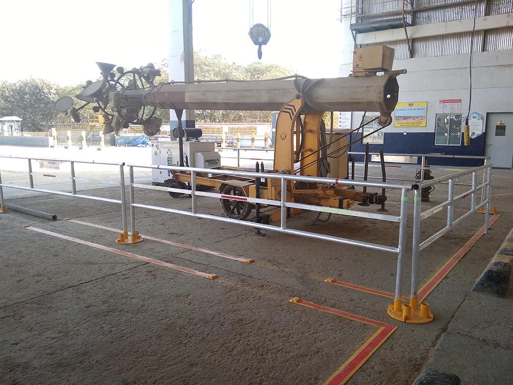 Flexicade - hard barricade