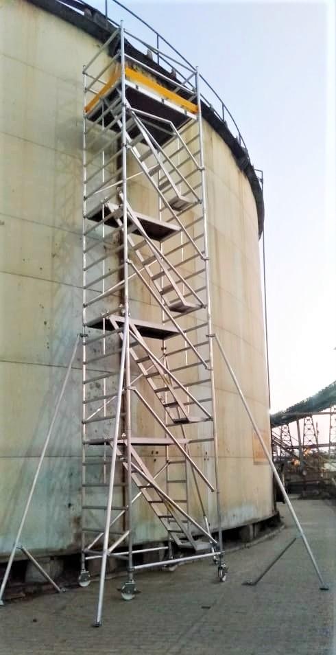 Wide verison scaffolding