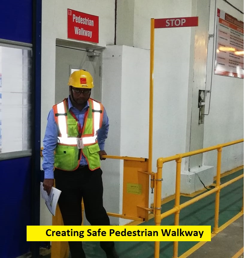 Creating Safe Walkway