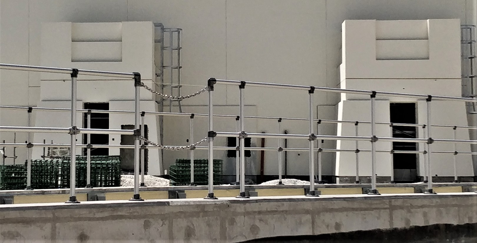 Modular Safety Handrailing